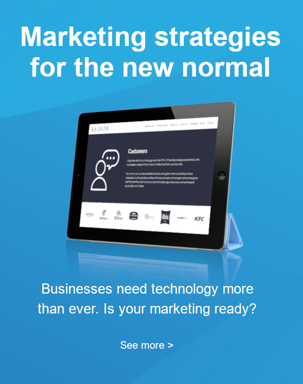 Marketing strategy for the new normal